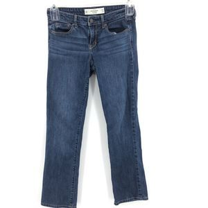 Abercrombie Fitch Blue Jeans Skinny Boot Cut 2